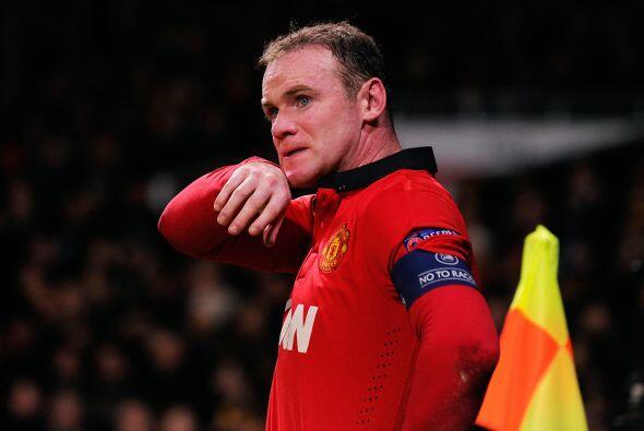 Ni la presencia en el campo de Wayne Rooney bastaba para poner el primer...
