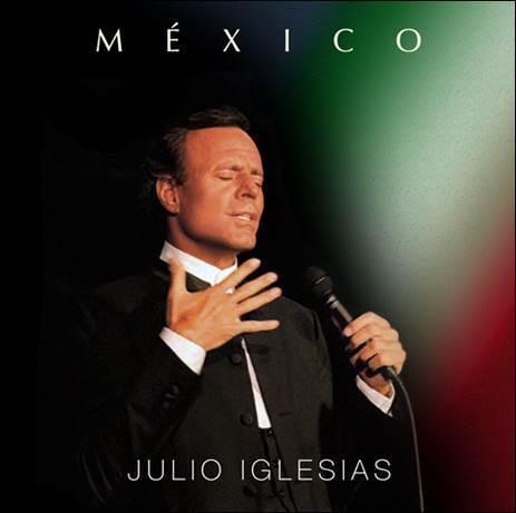Julio Iglesias y su disco 'México'