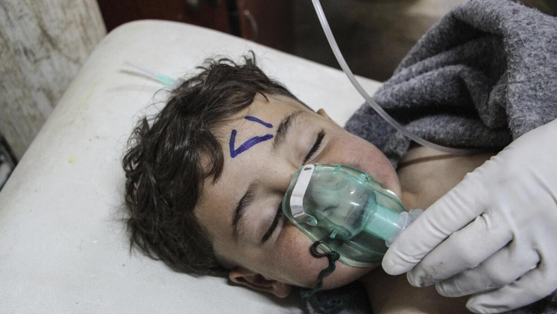 Al menos 58 personas -entre ellas once menores- murieron y decenas resul...