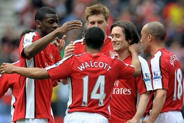 Para los duelos restantes que se jugaron en domingo, Arsenal se perfilab...