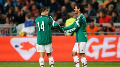 Carlos Vela y 'Chicharito' estará en la Copa Oro.
