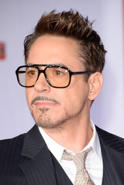 Robert Downey Jr. es de los famosos que les gusta dar un toque diferente...