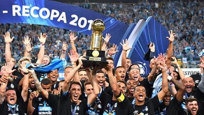 Gremio de Porto Alegre, campeón de la Recopa Sudamericana