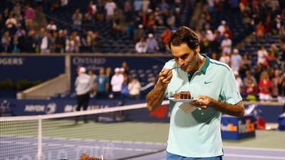 En fotos: Roger Federer cumple 37 años de edad y su leyenda aumenta cada día