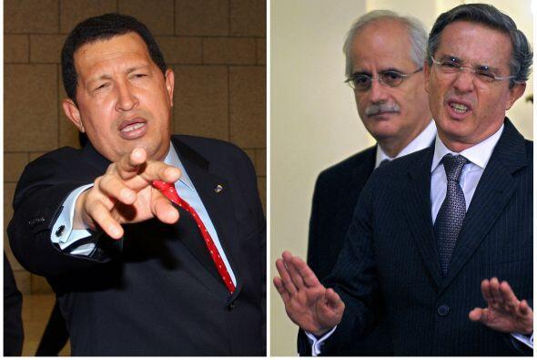 Las tensiones entre Venezuela y Colombia surgieron desde el mandato de A...