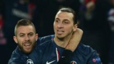 Ibrahimovic le dio el empate temporal a los parisinos.