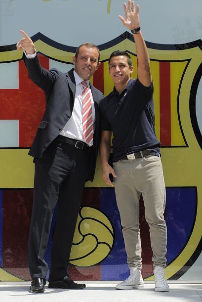 Hasta ahora, este naciente vínculo entre el jugador sudamericano y el Ba...