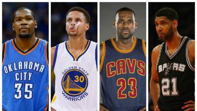 MVPs NBA