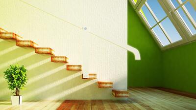 Ideas para decorar el espacio bajo las escaleras