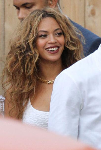 No sabremos nunca si Beyoncé se divirtió así en su...
