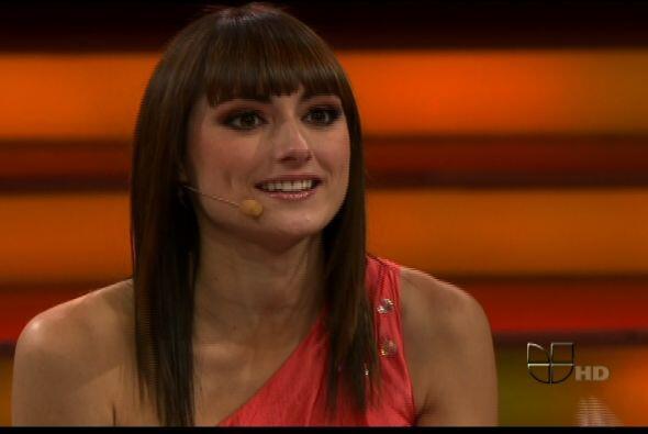 Raquel Ortega alabó el crecimiento de las parejas en el escenario.