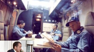 En 1969, el presidente Nixon llamó a los astronautas de Apollo 11 tras s...