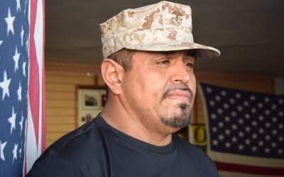 El veterano Enrique Salas fue deportado en 2006 a Tijuana, México.