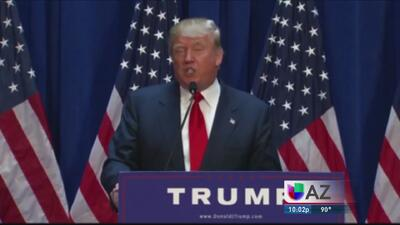 Líderes locales rechazan visita de Trump