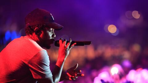 NOVEMBER 1, 2014: Kendrick Lamar performs onstage at a concert in Puerto...