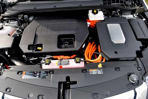 El alma del Chevy Volt no es su motor de gasolina, sino las baterías que...