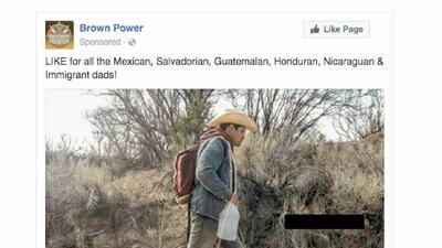 Estos mensajes de fuerte carga antiinmigrante pagados por rusos plagaron Facebook para causar división en EEUU (fotos)