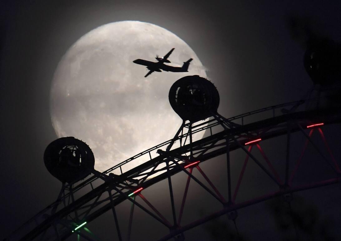 Una imagen tomada en Londres por un fotógrafo profesional de la agencia...