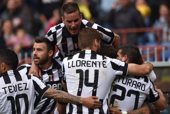 La Juventus ganó su 31º campeonato italiano, el cuarto conse...