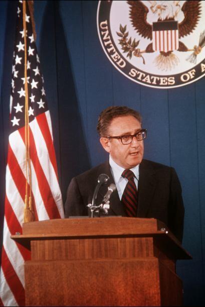 Henry Kissinger: Nació en Alemania pero ejerció como secretario de Estad...