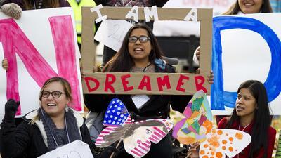 Los dreamers siguen estando en el centro del debate migratorio en EEUU.