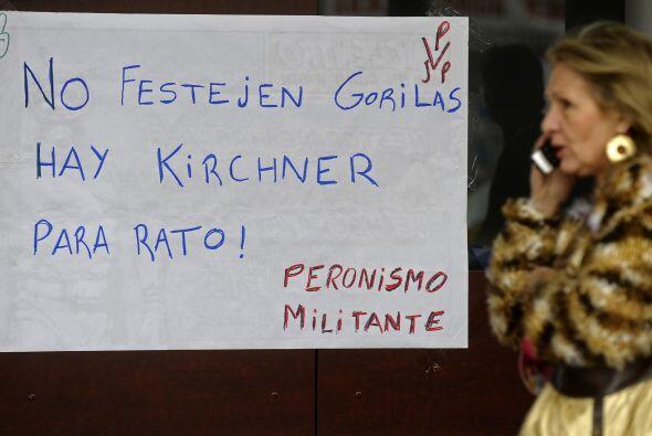 El pueblo argentino le dejó saber al actual secretario general de la Una...