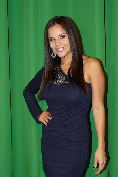 Ahora ella está de candidata a Miss República Deportiva.