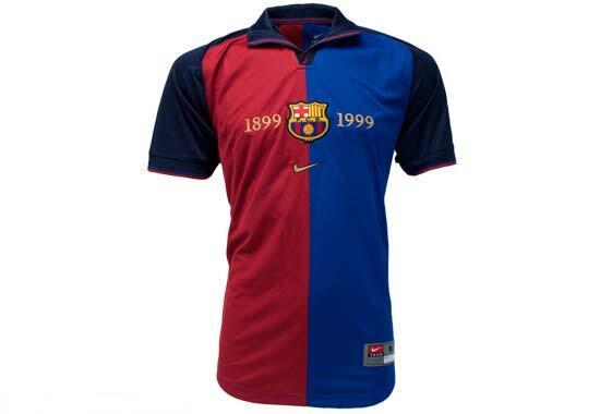 En el año 1999 el F.C. Barcelona cumplió 100 años de historia y por eso...