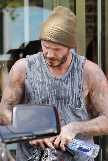 Ahora lo vimos en el gimnasio, dándole duro a las pesas.Más videos del M...