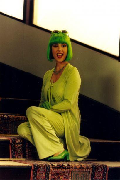 """""""La Tía Pelucas"""" fue y sigue siendo memorable con sus pelucas de colores..."""