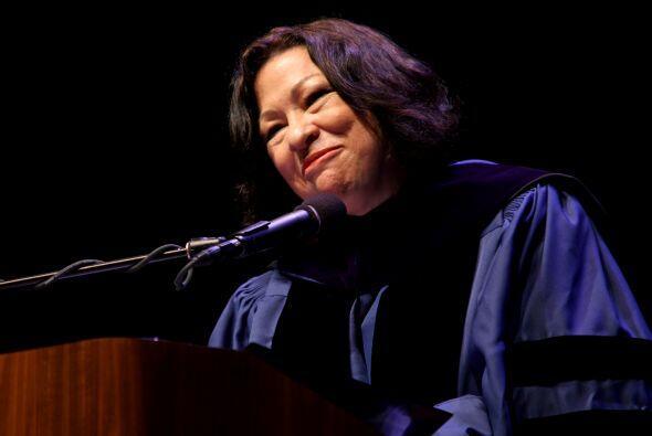 Sonia Sotomayor es un referente en cuanto al avance de las mujeres en el...