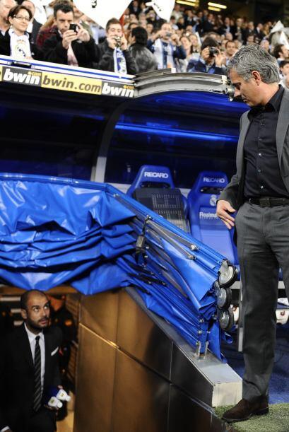 Hay quienes acusan a Mourinho de poco caballero, pero con Guardiola tuvo...
