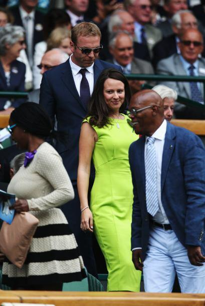 Chris Hoy y Sarra Hoy, con Samuel L. Jackson enfrente. Mira aquí los vid...