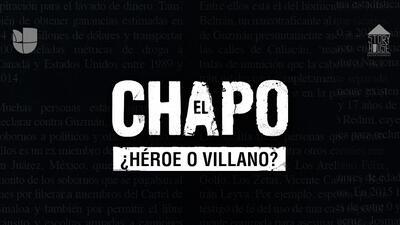 'El Chapo': ¿héroe o villano? Podcast