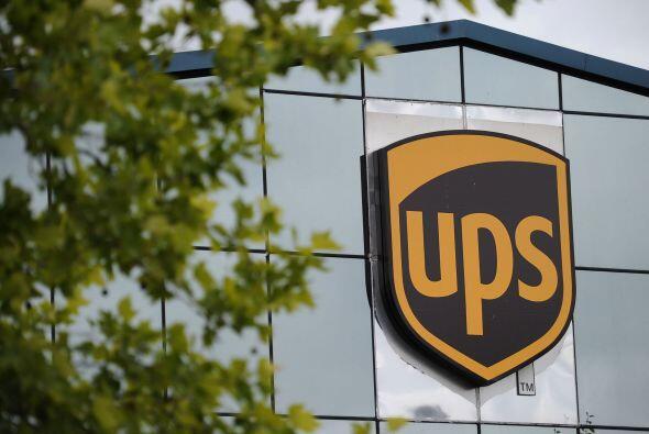 UPS- La mayor empresa de mensajería del mundo informó que en el primer t...