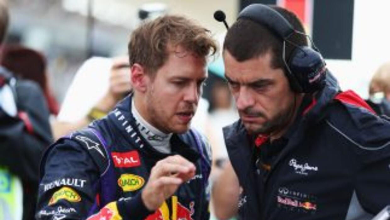 """""""Me disculpé por ponerme a mí mismo por encima del equipo"""": Vettel."""