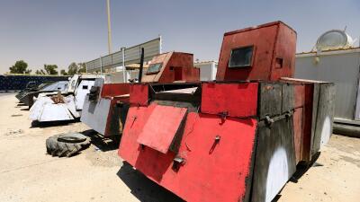 En fotos: los tanques de guerra improvisados de Estado Islámico