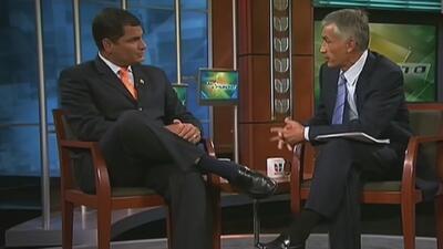 Los primeros presidentes que hablaron con Jorge Ramos en Al Punto