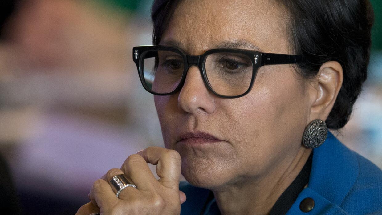 Penny Pritzker, donante demócrata y secretaria de Comercio de Barack Obama.