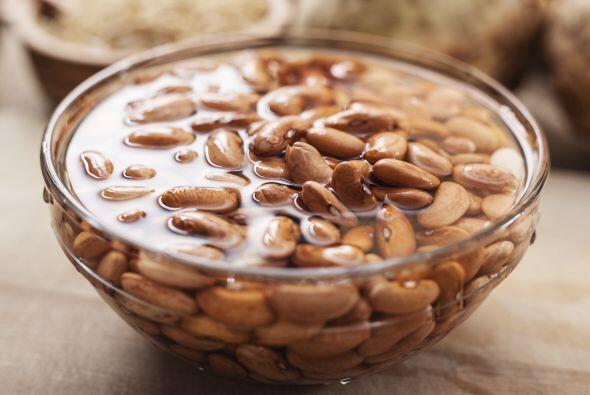 Básicos. Siempre que cocines 'beans', recuerda remojarlos. La proporción...