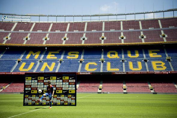 Y finalmente el Camp Nou cerraría el recorrido de Fàbregas.