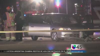 Bolsa de aire mata a un conductor
