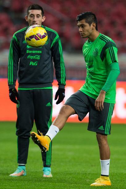 Otro jugador importante y que debuta en selección mayor, es Jesús Manuel...