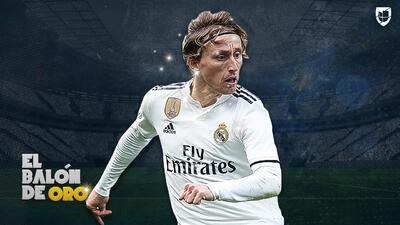 Mejor imposible: Luka Modric cierra su año de ensueño ganando el Balón de Oro