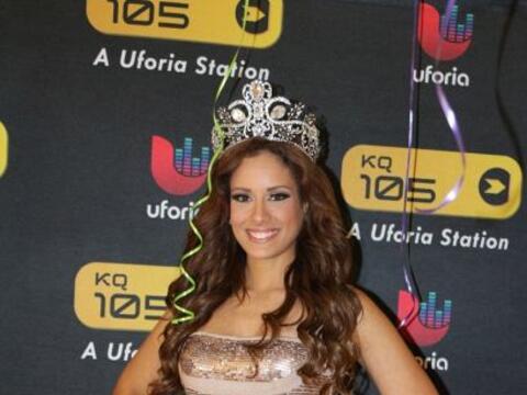 La nueva reina de Nuestra Belleza Latina, la boricua Aleyda Ortiz, est&a...