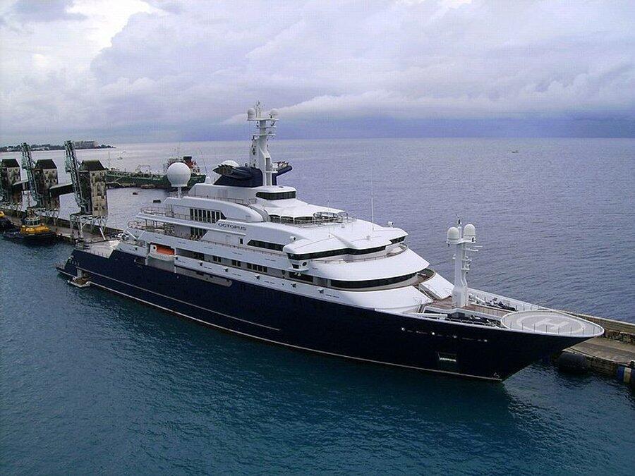 """Puesto 12: El """"Octopus"""" es la embarcacion que pertenece a Paul Allen, co..."""