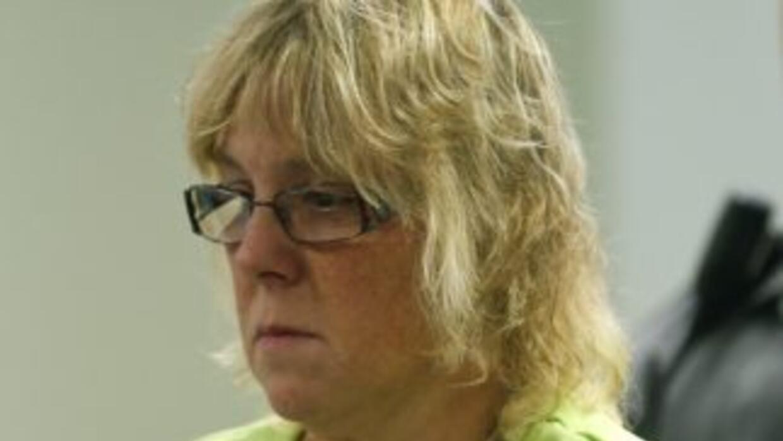 Joyce Mitchell ante la justicia.