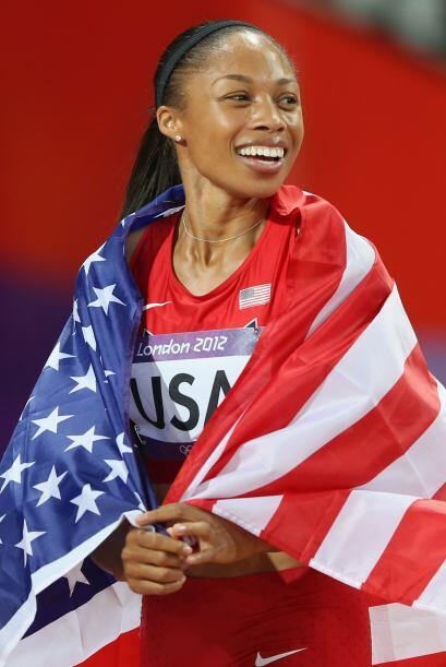5- ALLYSON FELIX, atletismo  Medallas de oro: 3  Medallas de plata: 0  M...