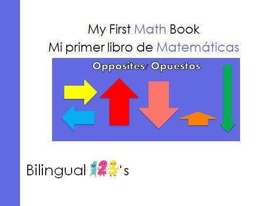 Aquí te traemos este libro bilingüe de matemáticas para aprender y pract...