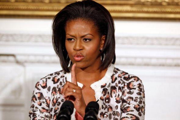 Otro favorito de Michelle, aunque usted no lo crea, es el 'animal print'...